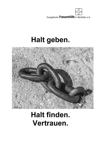 Halt geben. Halt finden. Vertrauen.